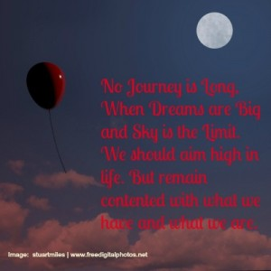 No Journey Is Long