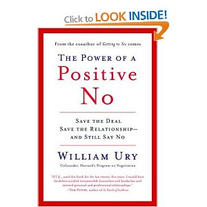 Power of Positive No - W. Ury