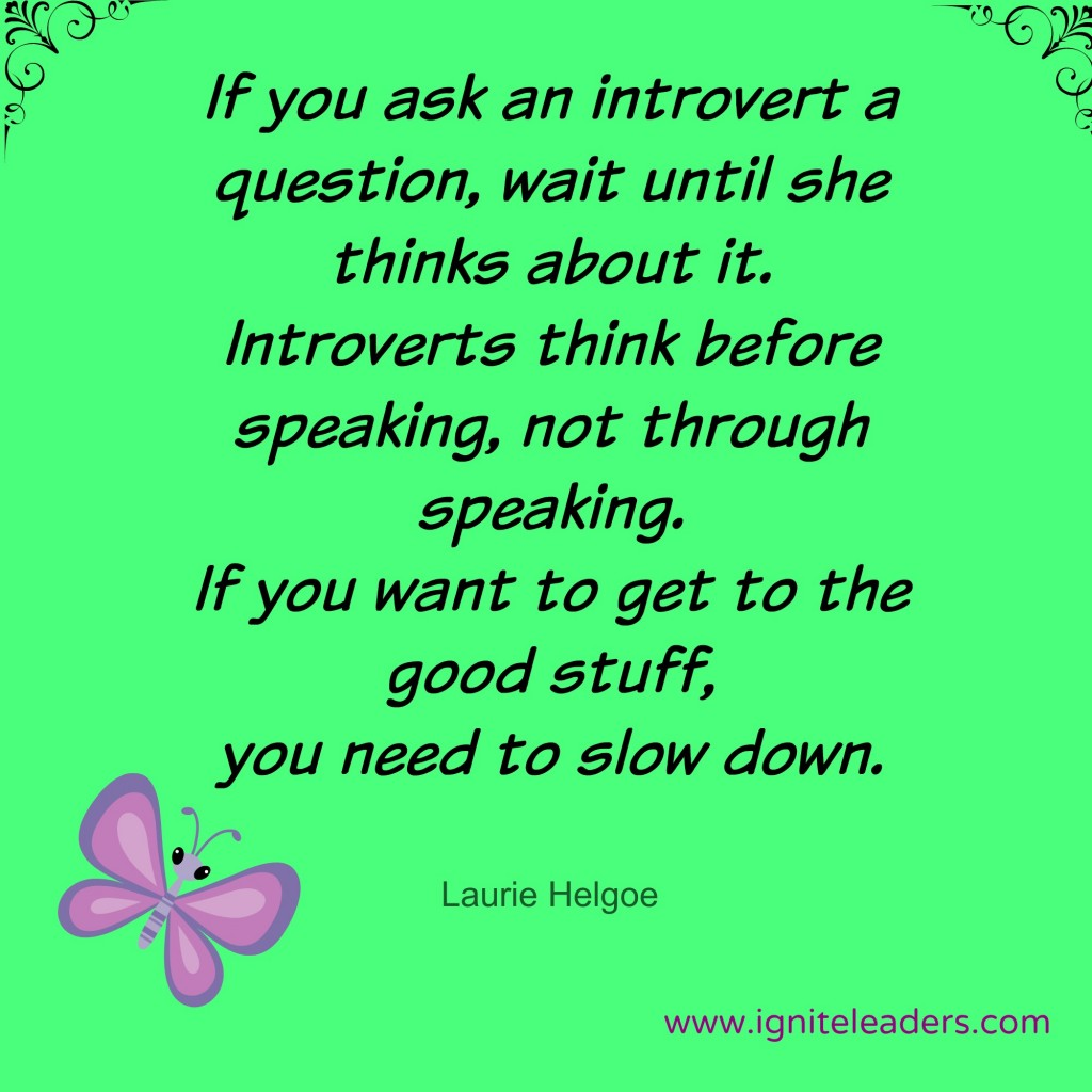 Ask an Introvert